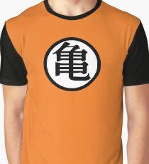 Conception de symboles Goku Kame T-shirt graphique