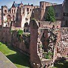 Heidelberg Castle Ruins by Elena Skvortsova
