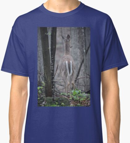 Deer Looks in Ravine Classic T-Shirt
