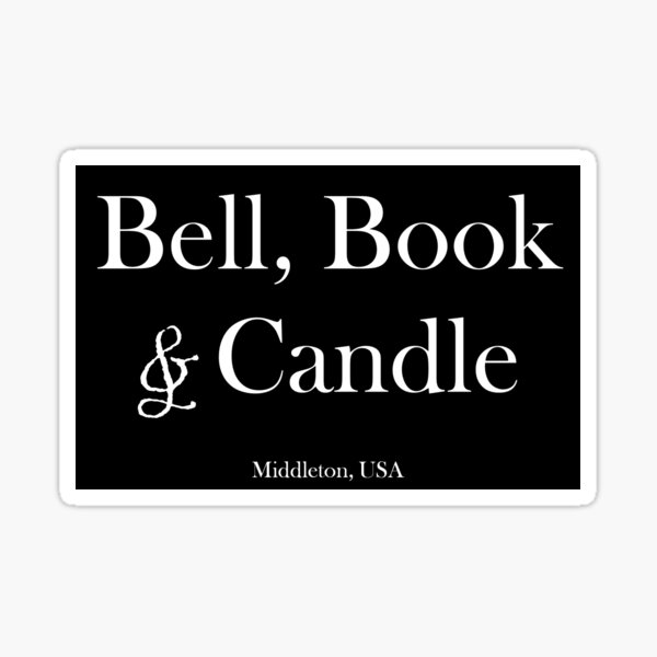 Bell, Book & Candle, Good Witch Sticker