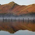 Cat Bells in Derwent Water by Jon Tait