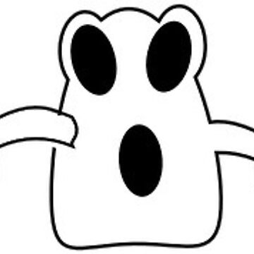 Halloween Shocked Ghost by MartinV96