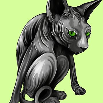 Sphinx Cat by Sookiesooker