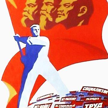 Marx, Engels and Lenin by weegieschemie