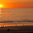 Carmel-by-the-Sea Sunset by Barb White