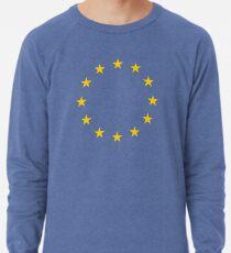 EU, Europäische Kultur, Restposten, STARS, Flagge, Euro, Flagge von Europa, Europäische Union, Flagge, Brüssel Leichter Pullover