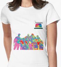 Brockhampton Iridescence Women's Fitted T-Shirt