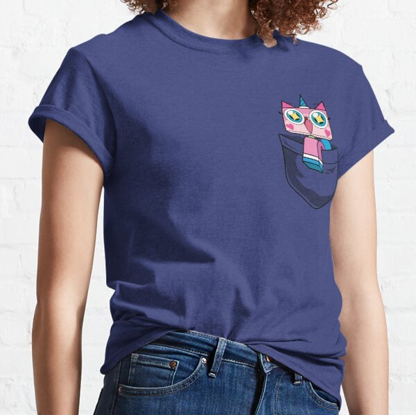 Unikitty Pocket Classic T-Shirt