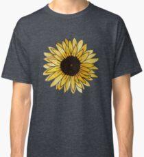 Sunflower Mixed Media Classic T-Shirt