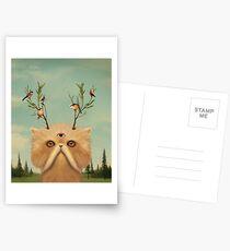 Cat Deity Postcards