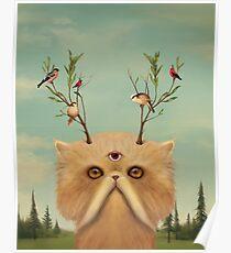 Cat Deity Poster