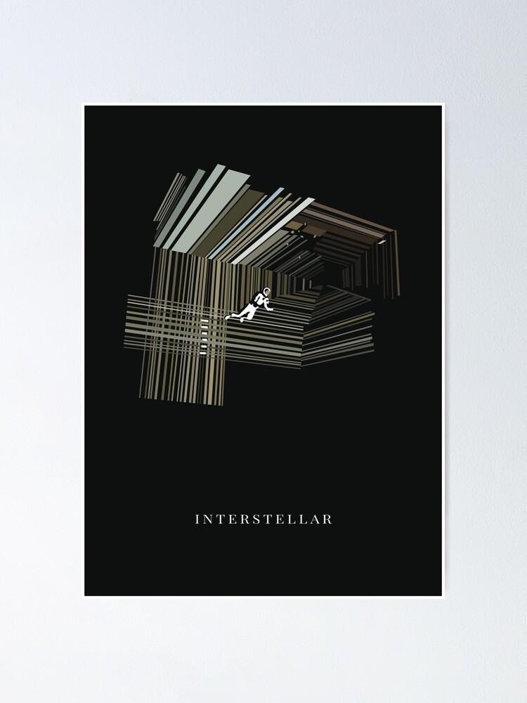 Alternate view of Interstellar Poster