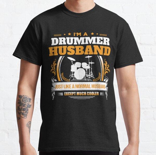 El baterista-Gracioso baterista T-Shirt-Padrino Parodia-Muchos Colores