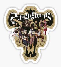 Black Clover Squad Sticker
