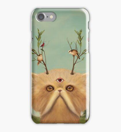 Cat Deity iPhone Case/Skin