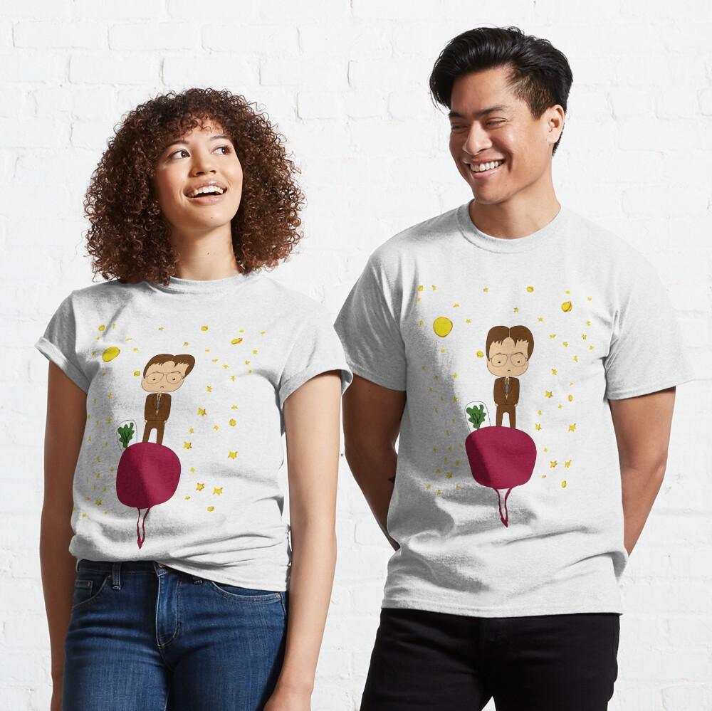personaje de la serie the Office Camiseta clásica