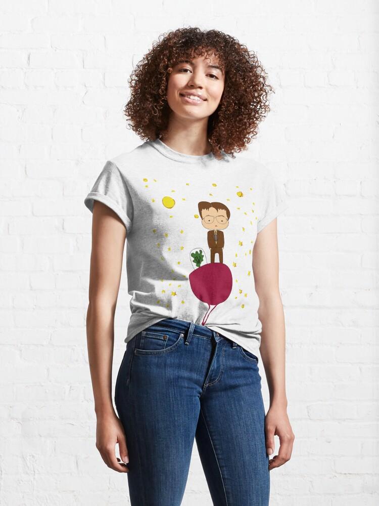 Vista alternativa de Camiseta clásica  personaje de la serie the Office