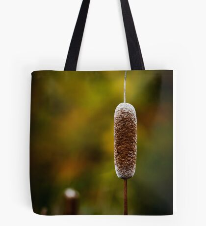 Autumn Cattail Tote Bag