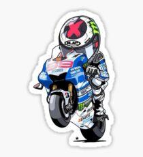 Jorge Lorenzo Sticker