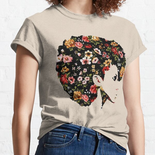 Floral Fro Classic T-Shirt