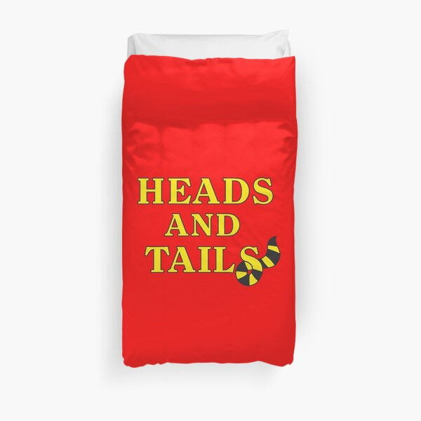 Heads and Tails Duvet Cover