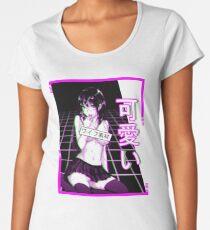 Aesthetic Japanese Girl 23 Women's Premium T-Shirt