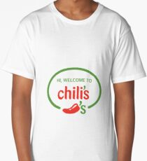 Hi Welcome to Chili's Vine Long T-Shirt
