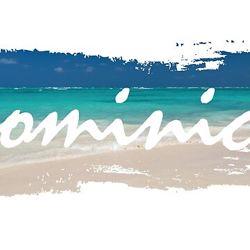 Dominica, Beach Background by identiti