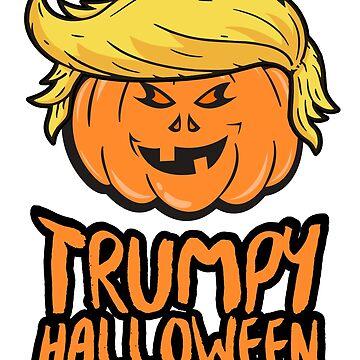 Trumpy Halloween by RAWWR