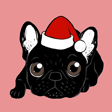 Brindle Frenchie loves Christmas season by cheesim