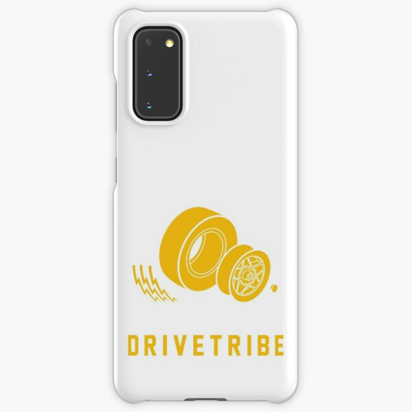 DriveTribe Tyres in Yellow Samsung Galaxy Snap Case