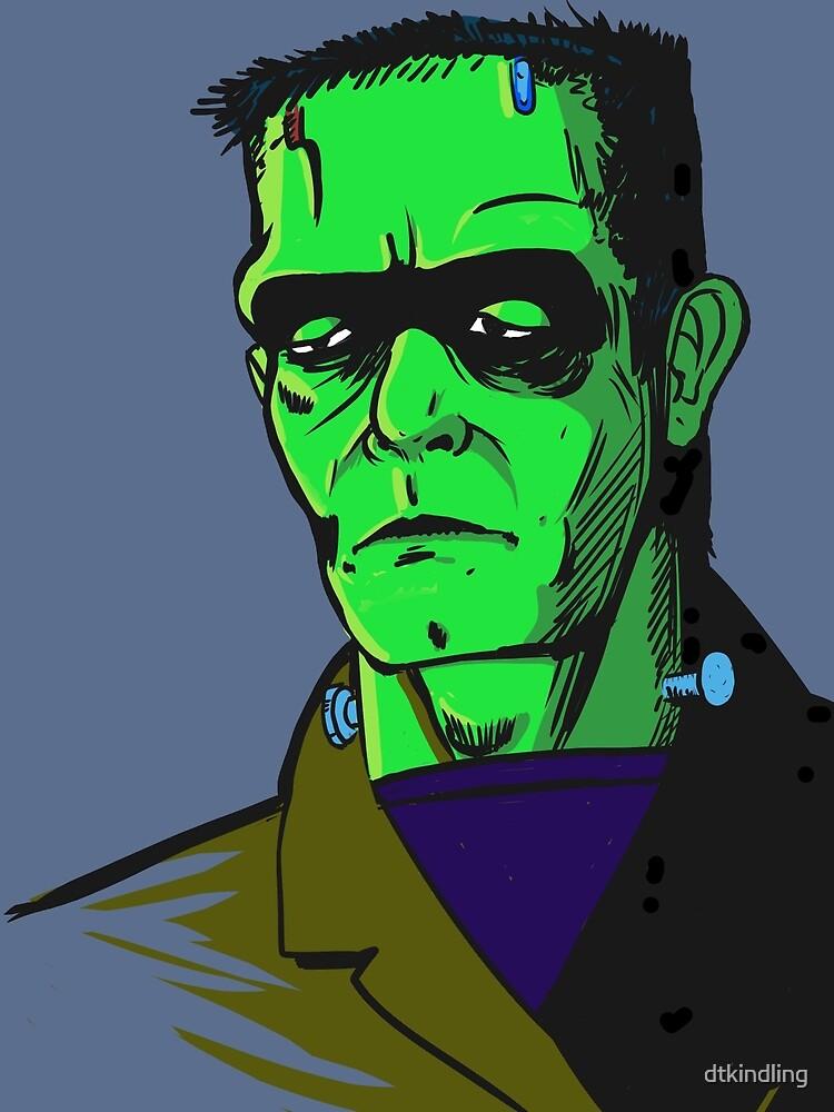 Frankensteins Monster by dtkindling