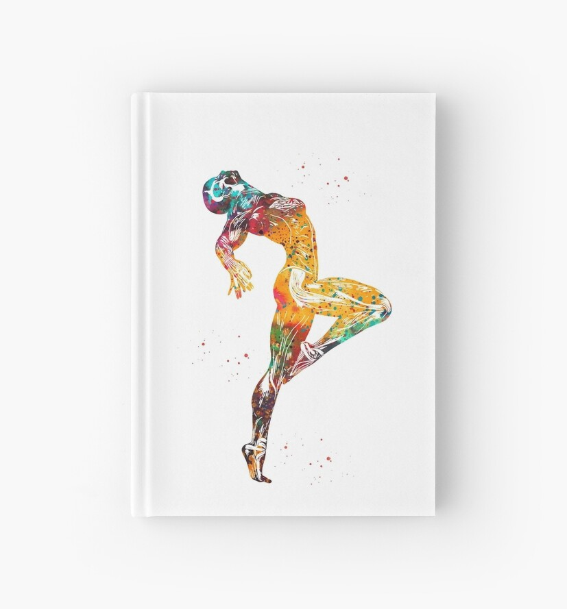 Human Muscle Anatomyfemale Muscle Illustration Hardcover Journals