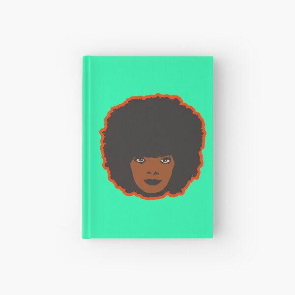 Retro Afro Hardcover Journal