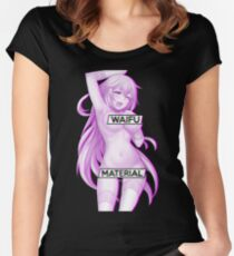Aesthetic Japanese Girl 25 v2 Women's Fitted Scoop T-Shirt