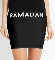I Love Ramadan Mini Skirt