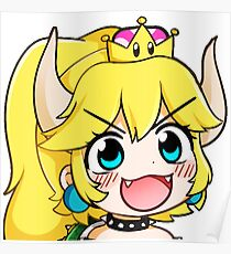 Bowsette Poster