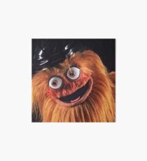 "Flyers New Mascot ""Gritty"" Art Board"