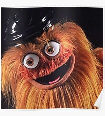 Flyers New Mascot & quot; Gritty & quot; Poster