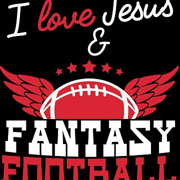 Fantasy Football Christian Jesus Draft League Believer by kh123856