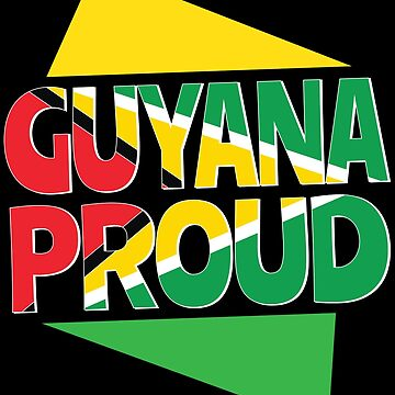 Guyana Flag South America Guyanese Men Women Gift by kh123856