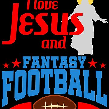 Fantasy Football Christian Jesus Draft League Gift by kh123856