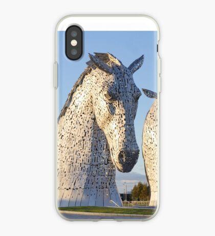 the Kelpies, Helix park, Falkirk iPhone Case