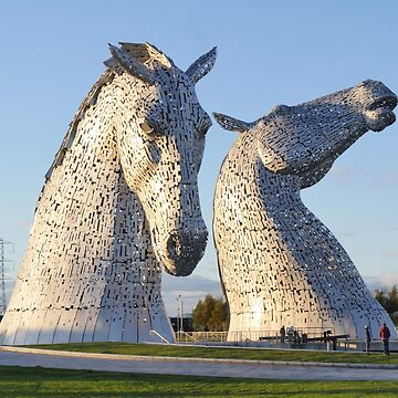 the Kelpies, Helix park, Falkirk by goldyart