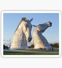 the Kelpies, Helix park, Falkirk Sticker