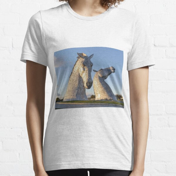 the Kelpies, Helix park, Falkirk Essential T-Shirt