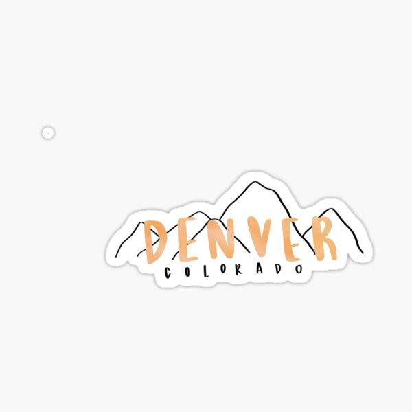 Denver, Colorado Sticker Sticker