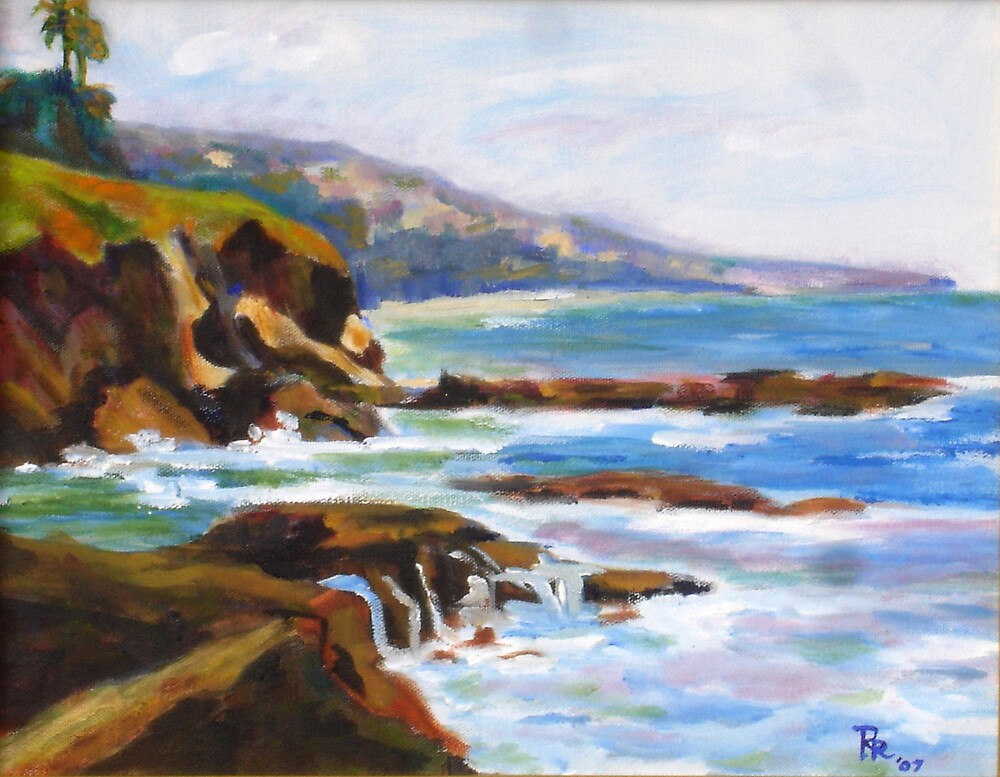 Morning in  Laguna by Roderick Reed