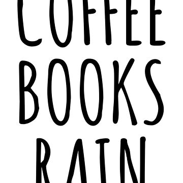 COFFEE BOOKS RAIN by limitlezz