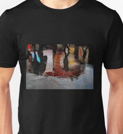 Rain and reflections Unisex T-Shirt